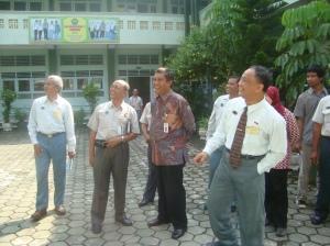 Kunjungan Wakil walikota Yogyakarta dan Kepala Dinas Pendidikan kota Yogyakarta di SMA Muhammadiyah 4 Yogyakarta